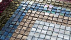 Twinkle Glass Moasic Tiles - Bespoke Tile & Stone