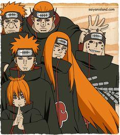 Naruto Shippuuden Generation CharaS by on DeviantArt Naruto Uzumaki, Anime Naruto, Madara Uchiha, Pain Naruto, Wallpaper Naruto Shippuden, Naruto Wallpaper, Akatsuki Clan, Naruto Episodes, Majin Boo