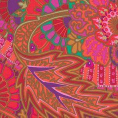 Kaffe Fassett Fabric Belle Epoch Red