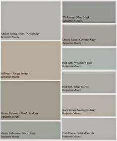 How To Choose A Whole Home Paint Palette Pick Colors