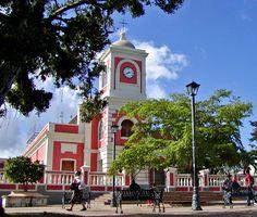 "View of the church, Fajardo, Puerto Rico*****  ""Fajardo church 1"" by Stan Shebs."