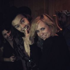 Pin for Later: Kristen Wiig and Harry Styles Are BFFs, and We Are Totally OK With That