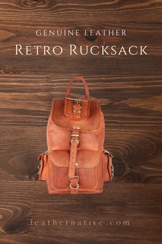 Our Genuine Leather Retro Rucksack is designed with high-end goat leather material and features a fashionable and durable frame, It will become your essential companion in your day-to-day life. Small Leather Bag, Leather Purses, Brown Backpacks, Leather Bags Handmade, Leather Material, Fashion Bags, 5 D, Goat, Leather Backpack
