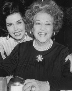 Ann Miller and Ethel Merman