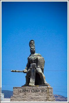 Monumento a Tecún Umán, Quetzaltenango. Foto por Tanya X Leonzo - Castillo l Sólo lo mejor de Guatemala