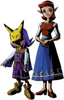 Kefei The Mayors Son Is Engaged To Anju The Innkeeper However Skull Kid Transformed Keifei