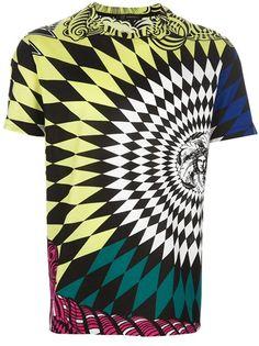 VERSACE Argyle Medusa Print T-Shirt