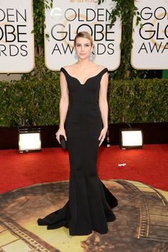 Emma Roberts, in Lanvin, with Jennifer Meyer jewels and a Kotur clutch.