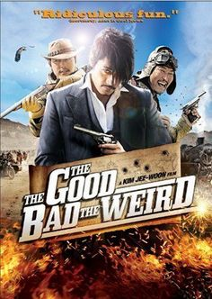 The Good, The Bad, The Weird! (2008) Korean Movie - Western Action   Lee Byung-Hun & Jung Woo-Sung