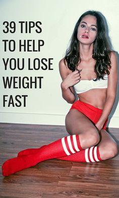 39 советов, которые помогут вам похудеть быстро