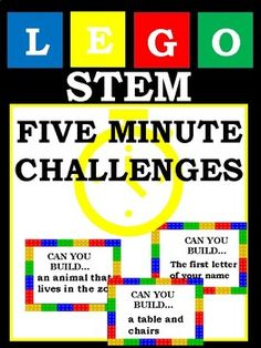 Loving Lego challenges for kids go to this site Lego Challenge, Challenge Cards, Used Legos, Indoor Games For Kids, Teaching 5th Grade, Lego Club, Challenges To Do, Lego Toys, Lego Building