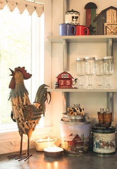 Farmhouse, shabby chic and poultry decor by Red Shed