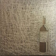 Check out this item in my Etsy shop https://www.etsy.com/listing/507663324/wine-bottle-string-art