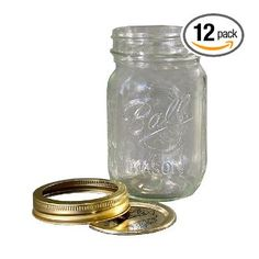 lovee canning jars as drinking glasses!