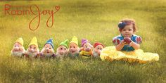 Disney inspired Snow White children's photography inspiration