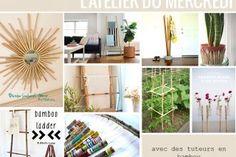 L'atelier du mercredi : avec des tuteurs en bambou