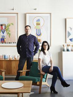 lovin' those arts Amy and Joel Malin of Modern Times