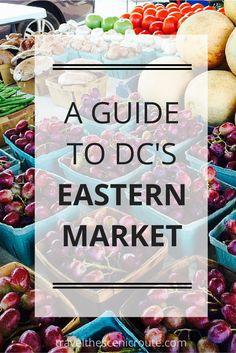 Stroll through Washington DC's Eastern Market