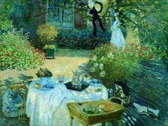 """Monet """"Le Dejeuner"""""""