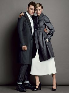 Sam Smith and Edie Campbell Rock Spring's Best Denim – Vogue
