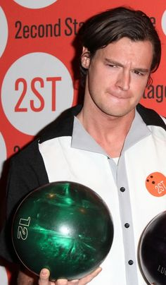 Photo Coverage: Benjamin Walker, Andy Mientus & More at Second Stage's Bowling Classic- Part One Benjamin Walker, That's Entertainment, Bowling, Balls, Husband, Entertaining, Celebrities, Classic, Derby