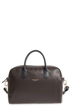 f4761278b3c1 LONGCHAMP  2.0  Two-Tone Leather Crossbody Satchel.  longchamp  bags