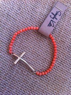 {Coral Crush} Bracelet -->> www.facebook.com/SimplyKate.Shop