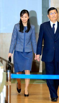 第38回少年の主張全国大会に出席した秋篠宮家の次女佳子さま=13日午後、東京都渋谷区、代表撮影