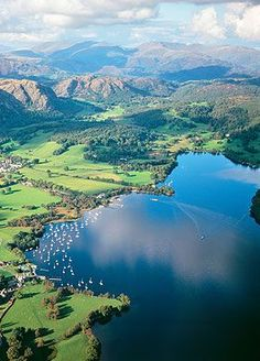 The Lake District, Cumbria, England. Simply amazing to visit!