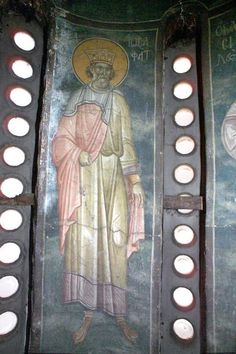 Serbian Culture and Heritage Byzantine Icons, Byzantine Art, Old Testament, Digital, Painting, Fresco, Painting Art, Paintings, Painted Canvas