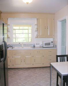 Tunear la cocina, sólo pintura: después