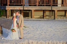 Beautiful beach wedding. Photo by St. Vincent & the Grenadines Destination Wedding Photographer