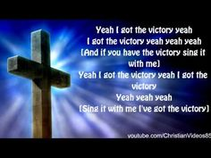 Yolanda Adams - I've Got The Victory - With LYRICS. HD My all time favorite Gospel Song! Hope you like it too! It lights a FIRE for Jesus in me!