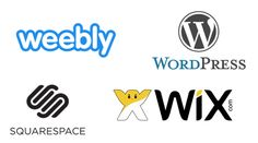 Looking to start a website but not sure if you should choose Squarespace, Wix, Weebly or WordPress? This guide will give the pros and cons of each. Over It Quotes, Start A Website, Business Branding, Starting A Business, Cool Websites, Coaching, Wordpress, Social Media, Good Things