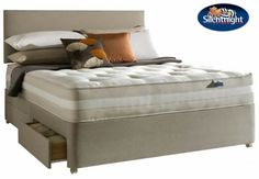 Silentnight Stockholm New 1200 Zoned Pocket Mattress - this mattress has a single layer of 1200 progressive pocketed springs in a standard king size along with standard foam and resilient white fibre, the mattress will have a soft knit stretch cover top and be non turnable.