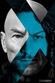 """A teaser poster for """"X-Men: Days of Future Past,"""" showing Patrick Stewart and James McAvoy as iterations of the character Charles Xavier/Professor X. Design by BLT Communications, LLC, Hollywood. Patrick Stewart, Charles Xavier, Francis Xavier, James Mcavoy, Michael Fassbender, Man Movies, Movies To Watch, Good Movies, Movies 2014"""