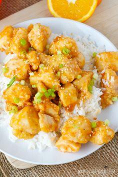 Sunkist TEN Kickin' Orange Chicken: A light version of a classic favorite. - Eazy Peazy Mealz
