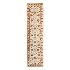 """Oushak Collection Oriental Rug, 2'6"""" x 10'"""