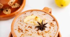Atole De Guayaba Recipe   Yummly Breakfast Dessert, Dessert For Dinner, Guava Recipes, Star Anise, Soy Milk, Meal Planner, Cinnamon Sticks, Vanilla, Meals