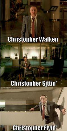 "Christopher Walken - ""Weapon of Choice"" video, a favorite!!"