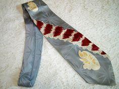Vintage 1940s Mens Swing Era Necktie MCM Abstract by BlackRain4