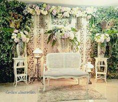 Model #Wedding Decoration