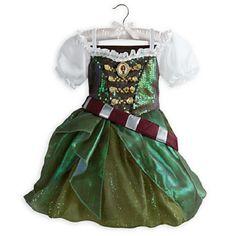 NEW NWT DISNEY STORE ZARINA PIRATE FAIRY COSTUME DRESS GOWN GIRLS SPRING 2014