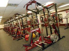 Amazing high school fitness room! Legend fitness equipment Www.btbfitness.ca