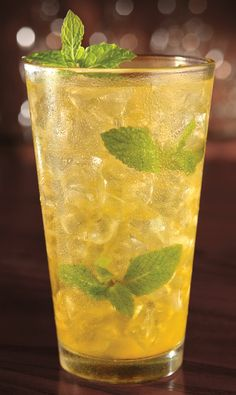 Chef Robert shares one of his favorite summertime cocktails. Try it at home tonight!  1 ½ oz. mango rum 1 oz. spicy mango syrup 3 oz. sweet and sour 1 oz. lemon-lime soda 4-mint leaves 1-diced mango  Shake with ice and serve with a lime wedge and mint sprig.