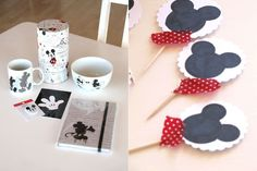Badges would be cute Mickey Mouse Party by Emmas Welt
