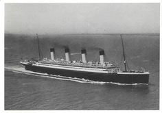 RMS Olympic - White Star Line 1910