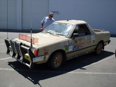 An Aussie feral ute. Subaru, Cool Pictures, Monster Trucks, Adventure, Cars, Cool Stuff, Mullets, Aussies, Offroad