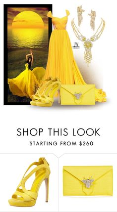 """Mellow Yellow"" by kashmier ❤ liked on Polyvore featuring Prada, Alexander McQueen, Wilbur And Gussie, polyvorecontest and leatherwooddesign"