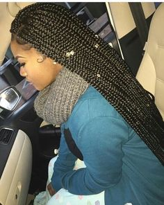 ... Braids on Pinterest Box braids, Crochet braids and Senegalese twists